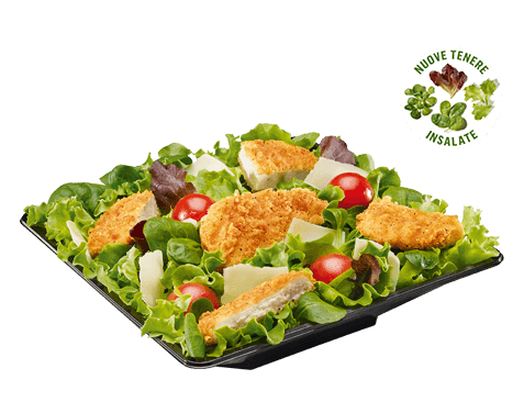 Caesar Salad con pollo croccante McDonald's