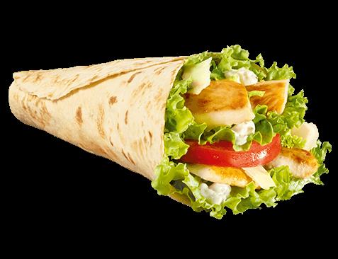 McWrap® Caesar Cheese con petto di pollo alla piastra