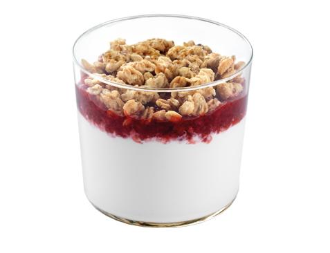 Il cremoso allo yogurt con frutta e cereali di McDonald's