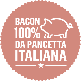 Bacon 100% da Pancetta Italiana