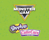 Shopkins Cutie Cars e Monster Jam